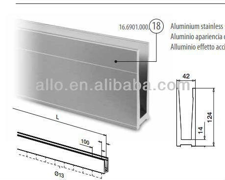Accesories Bracket untuk Meja Melihat Sistem Pagar Tanpa Aluminium Pagar dan Trek| | - AliExpress