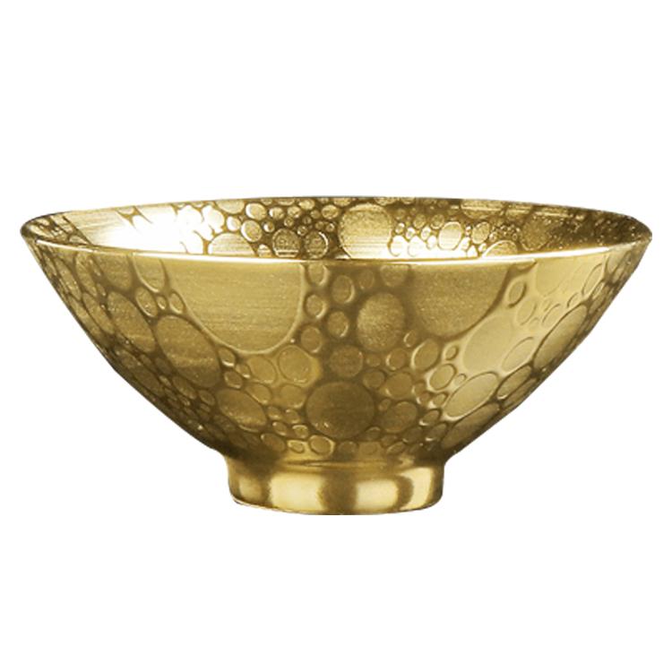 Oro dorado, de alta calidad de porcelana chino cerámica tazas de té