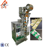 Automatic 3/4 sides sealing shampoo ketchup honey liquid sachet packing machine price
