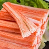Low-cost promotion of nutritious and delicious frozen surimi crab stick filament