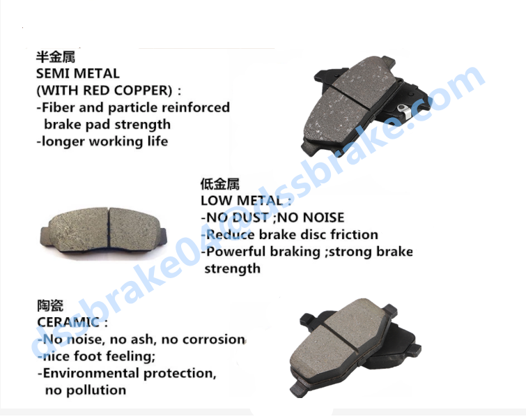 wholesale genuine Japanese car brake pads for toyota