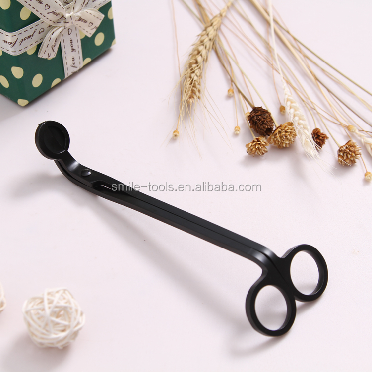 Amazon Hot Sell 3 Wick Candle Jars Wick Trimmer Scissors Antique Candle Care Kits Wick Trimmer Set