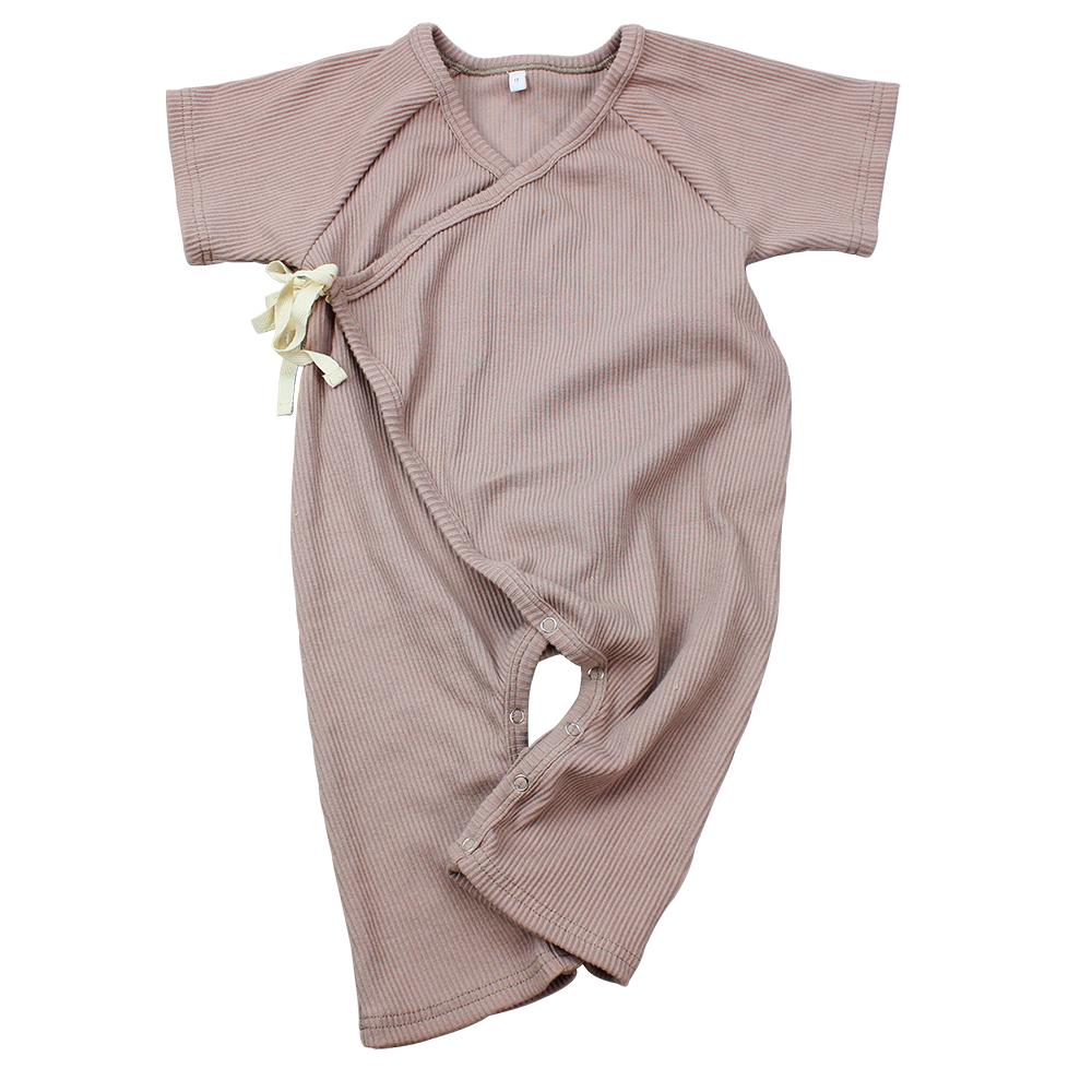 100% 유기농 소년 의류 신생아 수면 romper 옷 bodysuit 아기 로프 jumpsuit