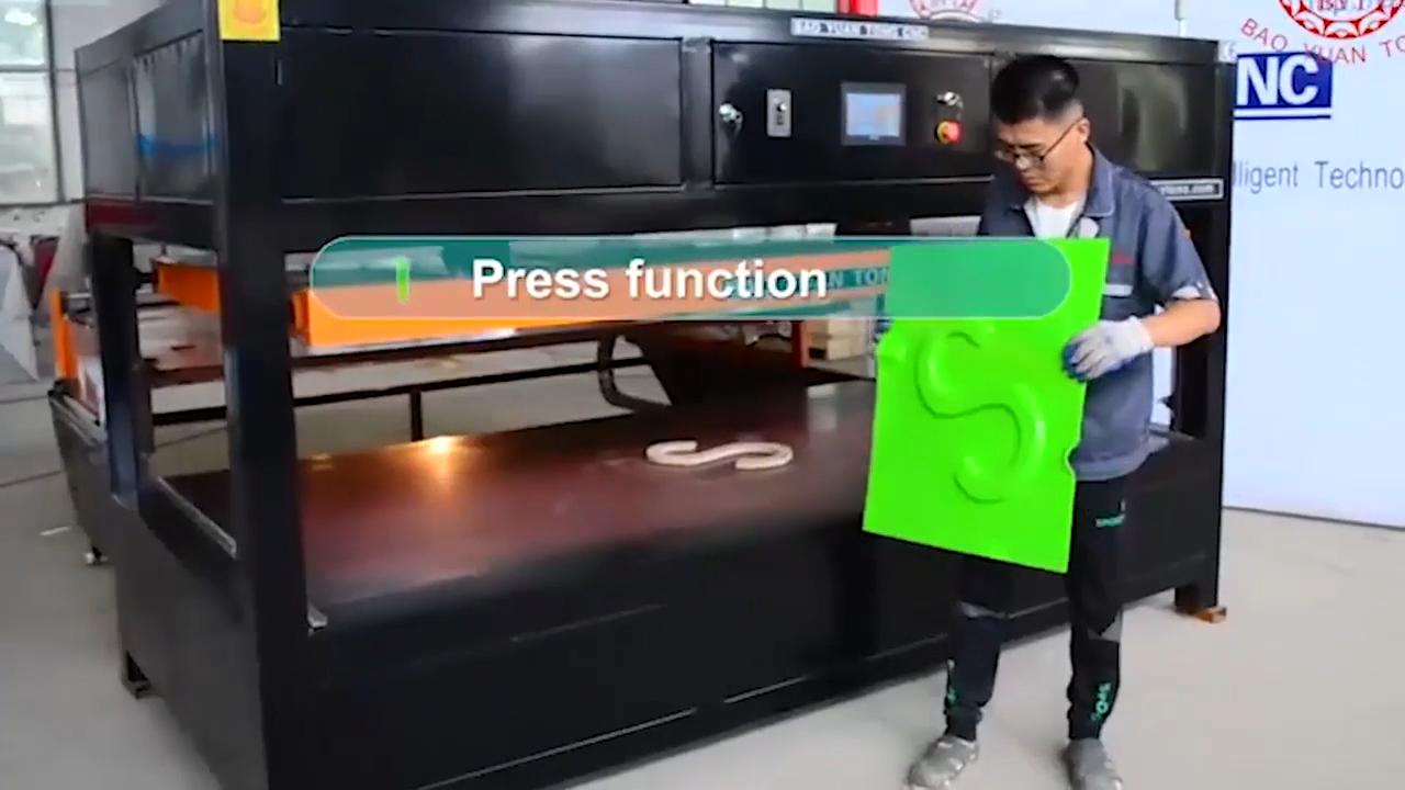 Multi funzione di plastica acrilico ABS PC PS vuoto che forma macchina di termoformatura macchina