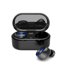 Kualitas Tinggi Bluetooths Headphone & Earphone TW80 Portable Media <span class=keywords><strong>Player</strong></span> dan Earbud Gaya Earphone Headset
