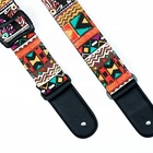 Wholesale Factory Direct Guitar Strap With Pick National Knit Folk Bass Guitar accessories