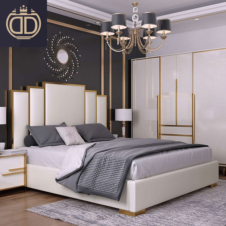 queen size wooden double korean style <strong>beds</strong> design leather furniture with storage modern <strong>bed</strong>