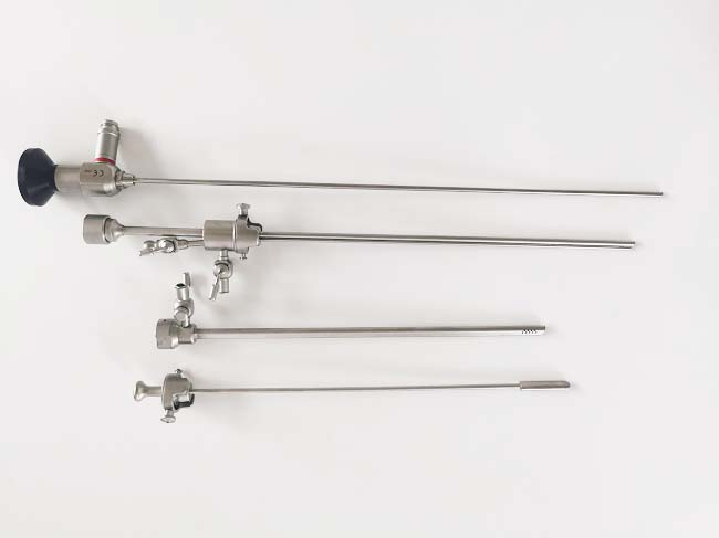 Operative Hysteroscopy set/ Flexible gynecology Hysteroscope price / Surgical Hysteroscope