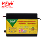 Sunchonglic Fast Universal 20A Smart Car Battery Charger 12V for Lead Acid Battery