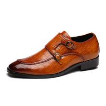 Мужские модельные туфли ручной работы, модные свадебные туфли из лакированной кожи, кожаные оксфорды на плоской подошве, официальная обувь,...(China)