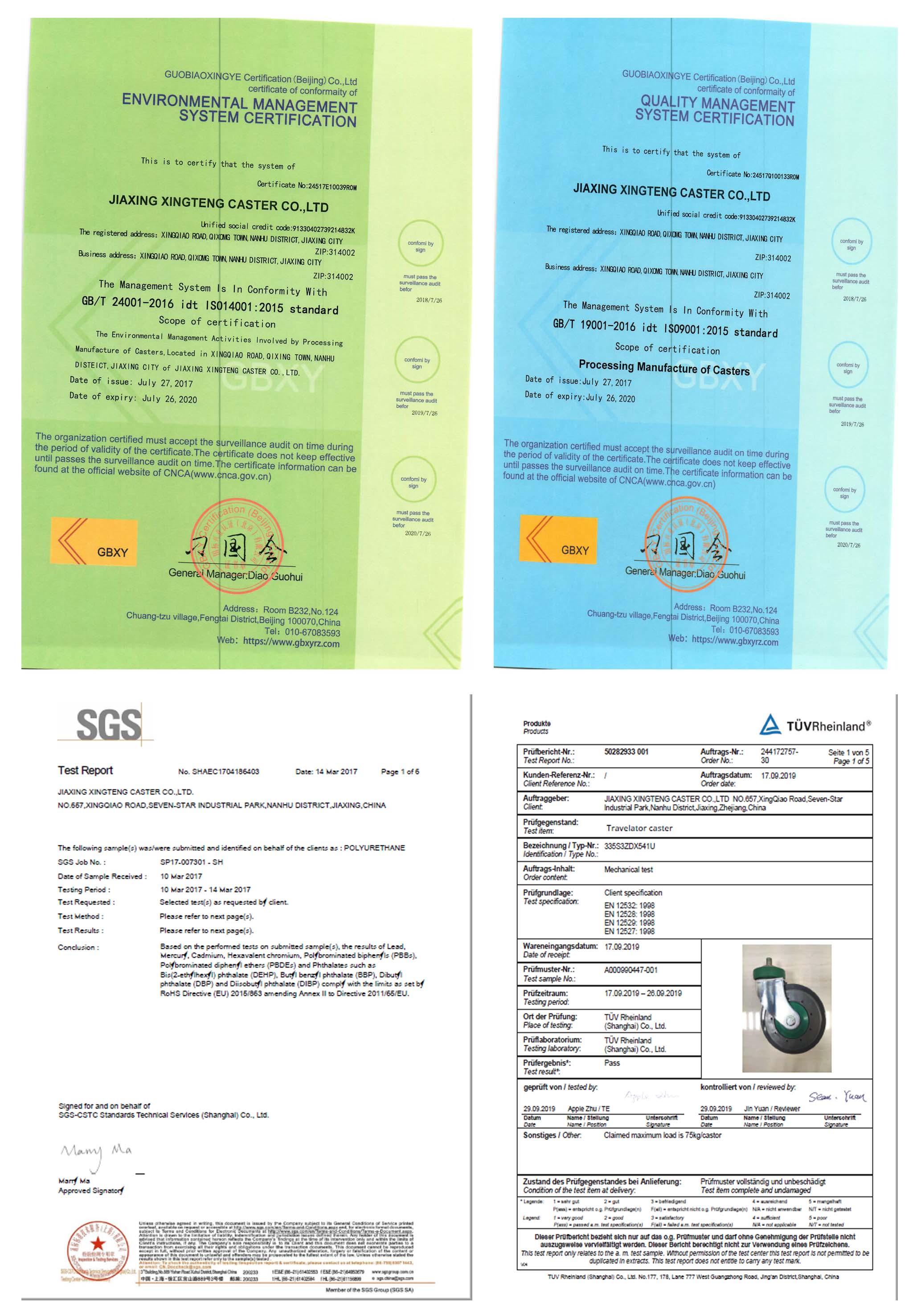 Hot Selling Medium Industrial APP Swivel PU 4 inch Caster