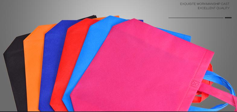 Heißer verkauf Mehrweg Faltbare vlies Tuch Rpet Einkaufstasche