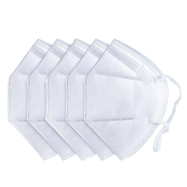 In Stock Disposable Earloop Antibacterial 4Ply Non Woven KN95 FFP2 N95 Face Mask With CE