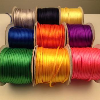 Dekorasi Simpul Cina Polyester Nylon Sasak Satin Tali Buy 2mm Tali Nilon Product On Alibaba Com