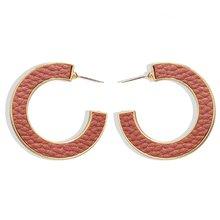 2020 модные корейские круглые леопардовые кожаные серьги-кольца, женские массивные геометрические круглые серьги C, ювелирные украшения, тре...(Китай)