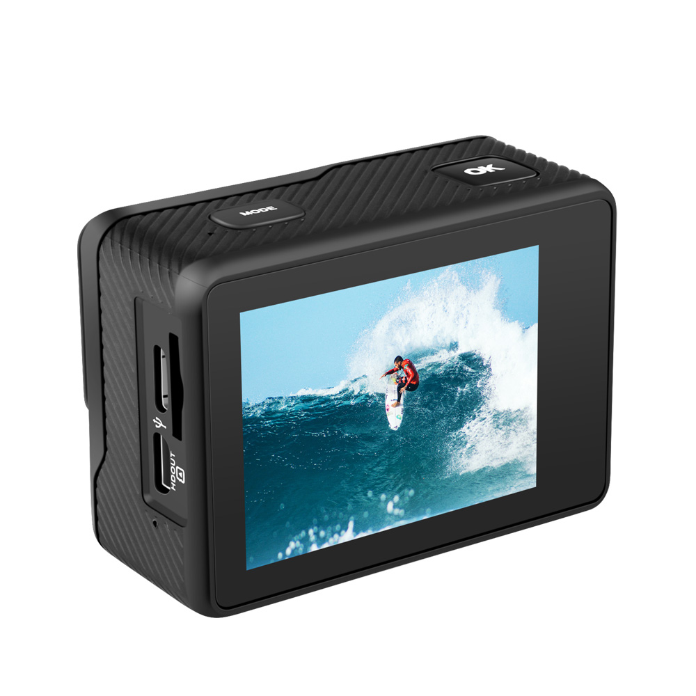 2020 Japan  Hisilicon V200 action camera AKASO 4K 60FPS WIFI FHD video camcorder user manual with outdoor WATERPROOF accessories
