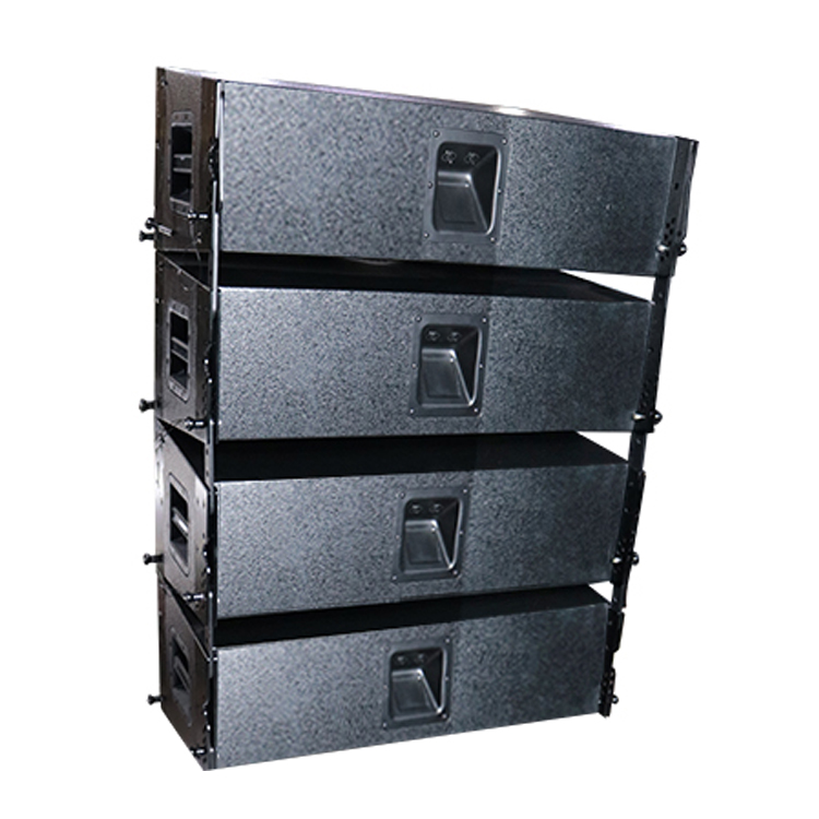 Pa line array sound system p audio outdoor systemen
