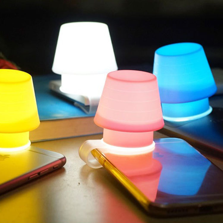 Wholesale Cute Colorful Phone Accessory Silicone lamp cover