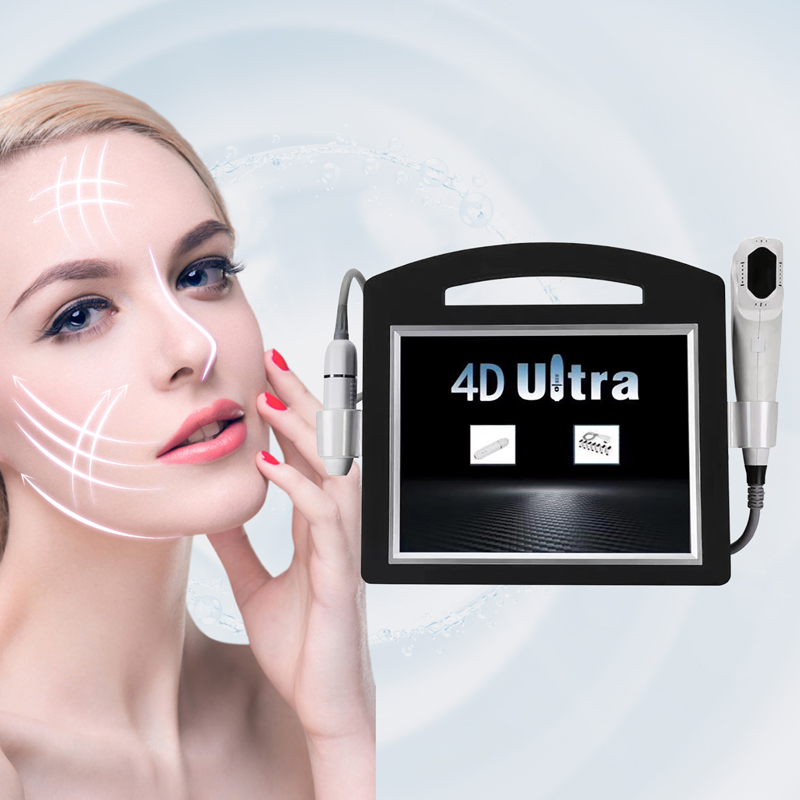 4D Hifu 60000 Shots 11 Lines 6 Cartridges Anti Wrinkle Face Lift Skin Tightening Body Slimming Hifu 3D 4D Hifu beauty machine