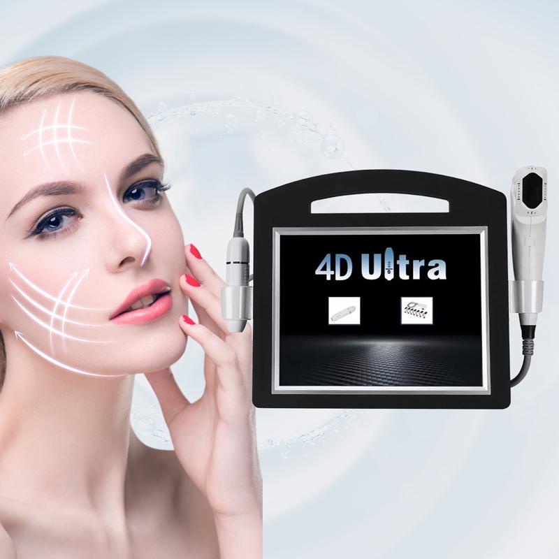 4D Hifu 60000 Shots 11 Lines 6 Cartridges Anti Wrinkle Face Lift Skin Tightening Body Slimming Hifu 3D 4D Hifu beauty machine