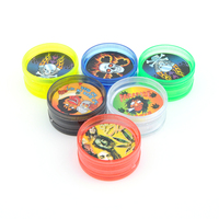 JL-056J Wholesale Cheap Custom Herb Grinder Plastic Herb Grinder