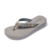 high quality Lightweight high heel thick crystal design slipper women gray eva flip flop