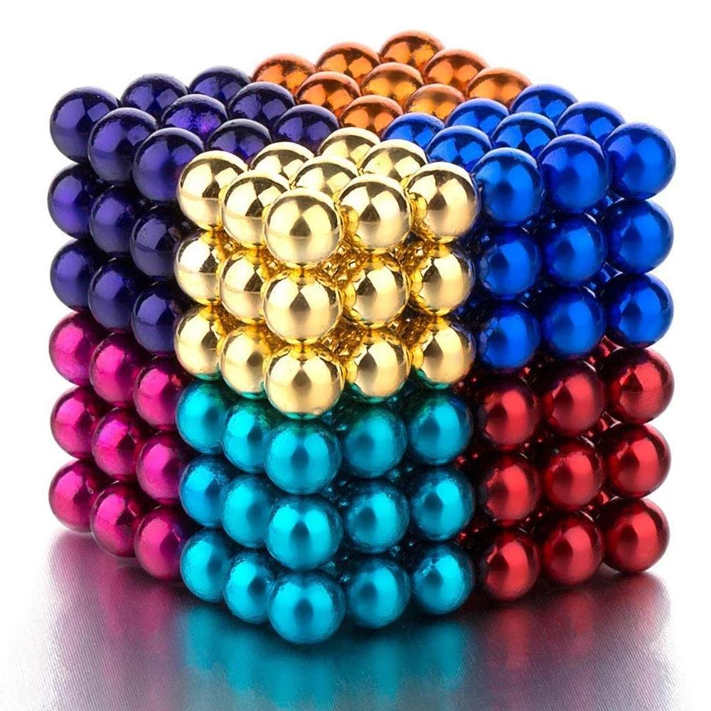 magnetic balls 1000pcs,10 Sets, Multicolor
