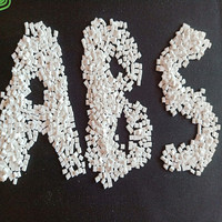 Transparent abs plastic granules virgin resin material
