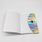 Hardcover Laser Eyes cover fashion Stationary binding Notebook