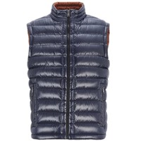 Padded Puffy Vest Mens Body Warmer Wear OEM Winter Sleeveless Quilted Gilet