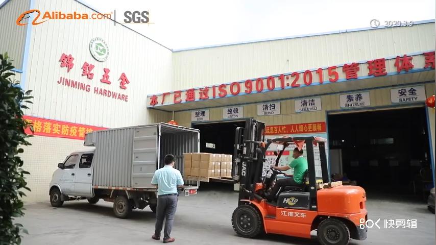 JSCREW גואנגדונג מכירה לוהטת פחמן פלדת m6 שמאל חוט hex אגוז למניעת גניבות