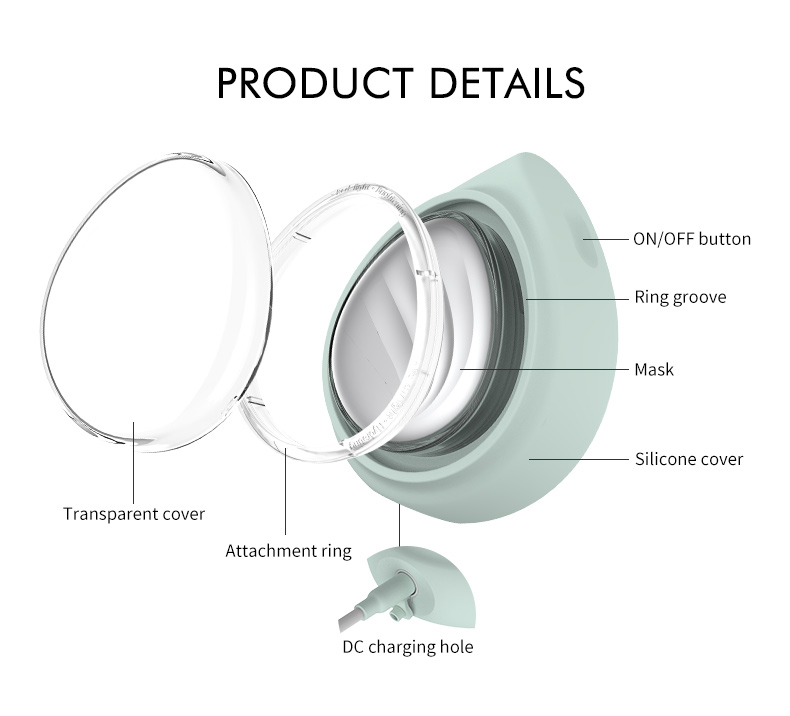 New Design skin care device smart Mask Treatment Device