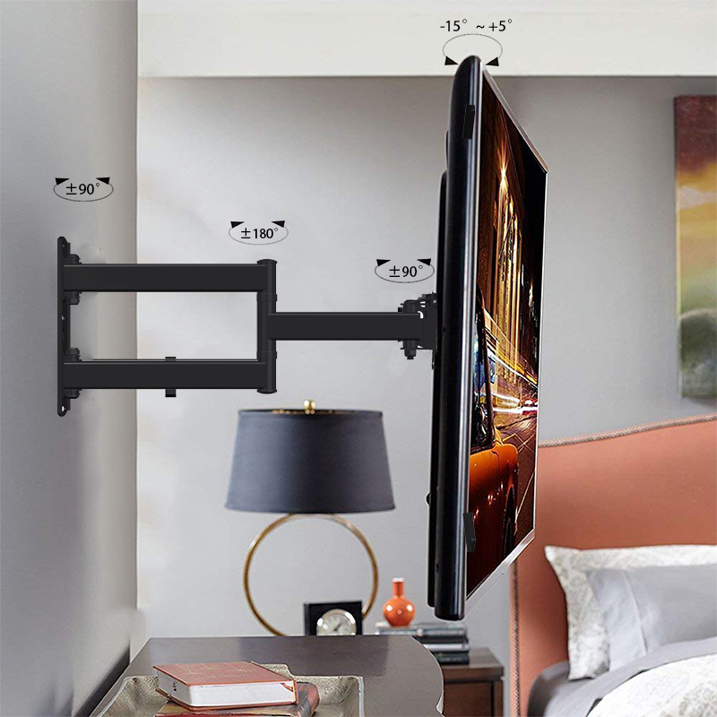 Economic Aluminum Pivoting TV Wall Mount LB-L743