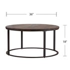Acrylic Table High Quality Simple Modern Design China Round Acrylic Wood Tea Table