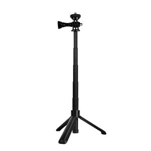 Lightweight portable extendable tripod selfie stick camera stabilizer for go pro panoramic camera