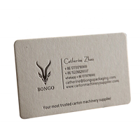 New Design Printed Embossed/Debossed Business Card