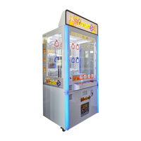 Key Master Cheap Prize Vending Arcade claw crane machine Coin Operated Games Machines For Sale