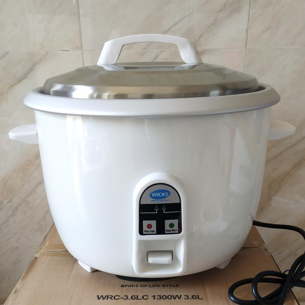 3.6L big size <strong>commercial</strong> classic <strong>electrical</strong> drum rice <strong>cooker</strong> with ss lid
