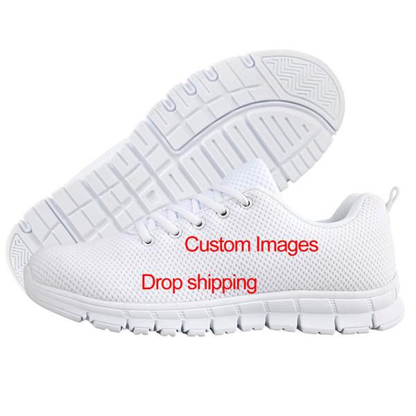 Высокое качество пользовательские печатных сетки Модные дышащие повседневные спортивные туфли повседневное спортивная обувь для мужчин