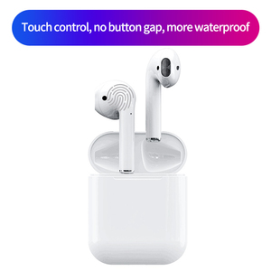 BT V5.0 TWS i13 Wireless Earphones Touch Control Earbuds with Wireless Charging headset