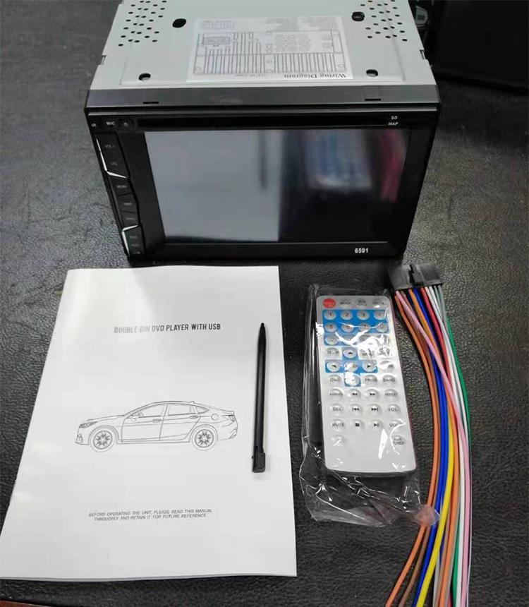 Hinz Chất Lượng Cao 6.2 Inch Màn Hình Cảm Ứng Xe Máy Nghe Nhạc DVD Cho 2DIN Phổ Quát Với GPS Bluetooth Wifi 1080 P