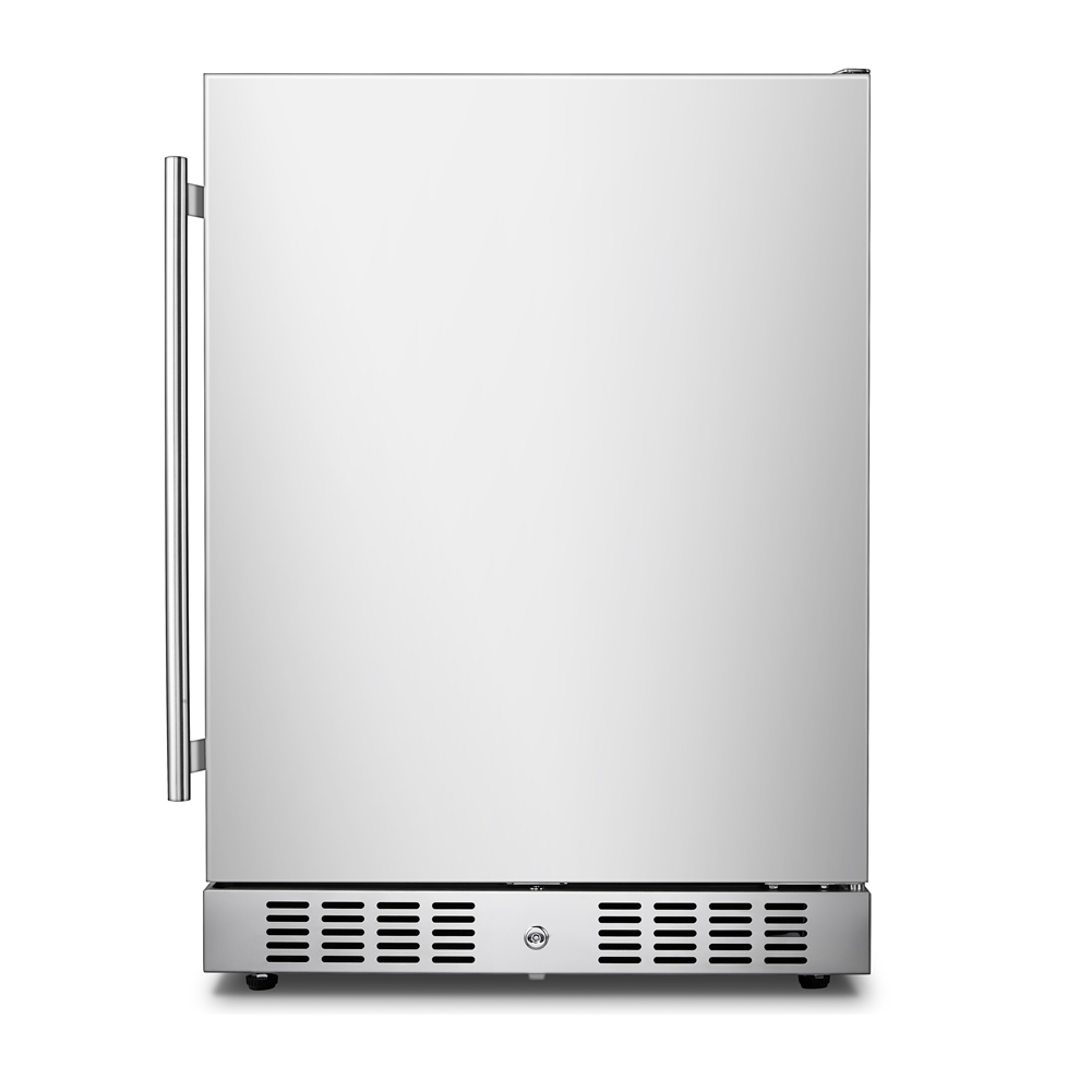 Candor: Compressor Outdoor stainless steel <strong>Refrigerator</strong> with ETL/DOE/CEC BC-145A1EQ
