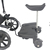 3 wheels standing stroller board kiddy board buggy board