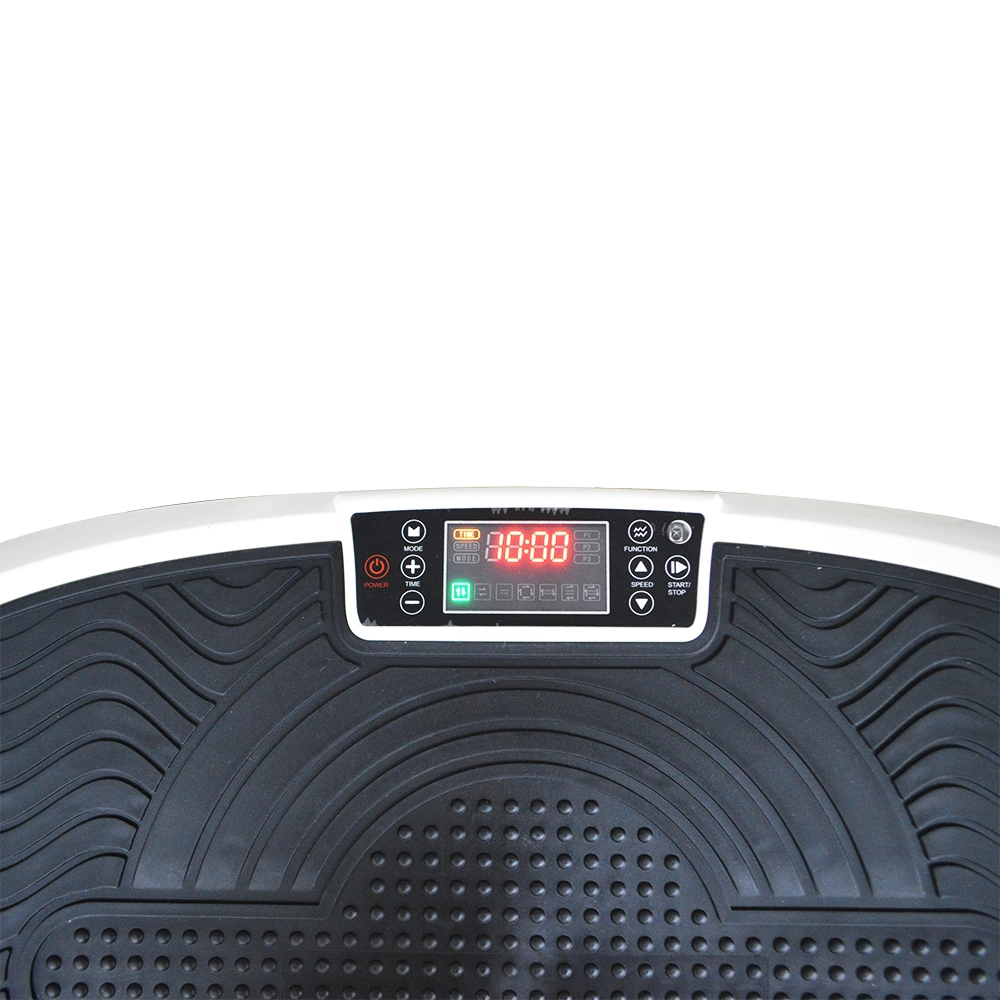 China fitness equipment fitness crazy fit massage vibration platform 4d body vibration plate machine