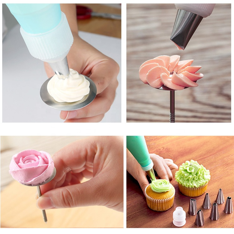 51 Pieces Piping Bag And Icing Piping Nozzles Decorating Cakes Pastry Tips