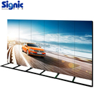 stand mirror panel advertising light board acrylic video indoor transparent screen frame display digital led poster