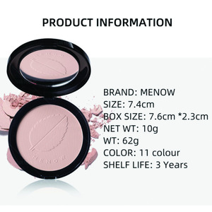 Face make up foundation powder water proof long lasting oil control high coverage pressed facial powder