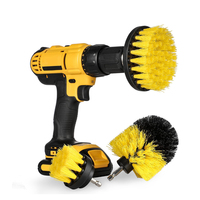 Drill Brush Scrub Cleaner Brush Electric Power Scrubber Cleaning Kit