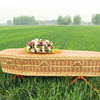 Wholesale Cremation And Burial Funeral Willow Coffin Caskets For Ashes
