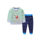 Wholesale new design 2-piece long sleeves boys kids fall clothing sets